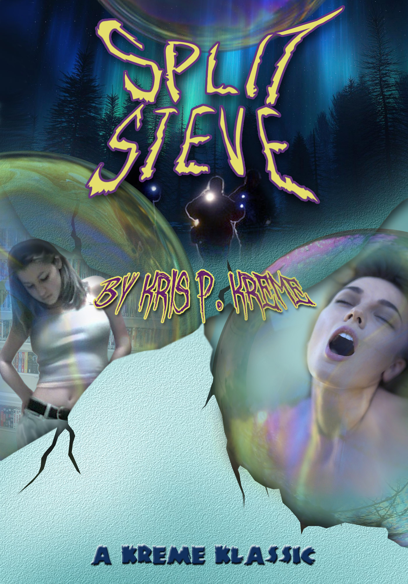 Split Steve Cover