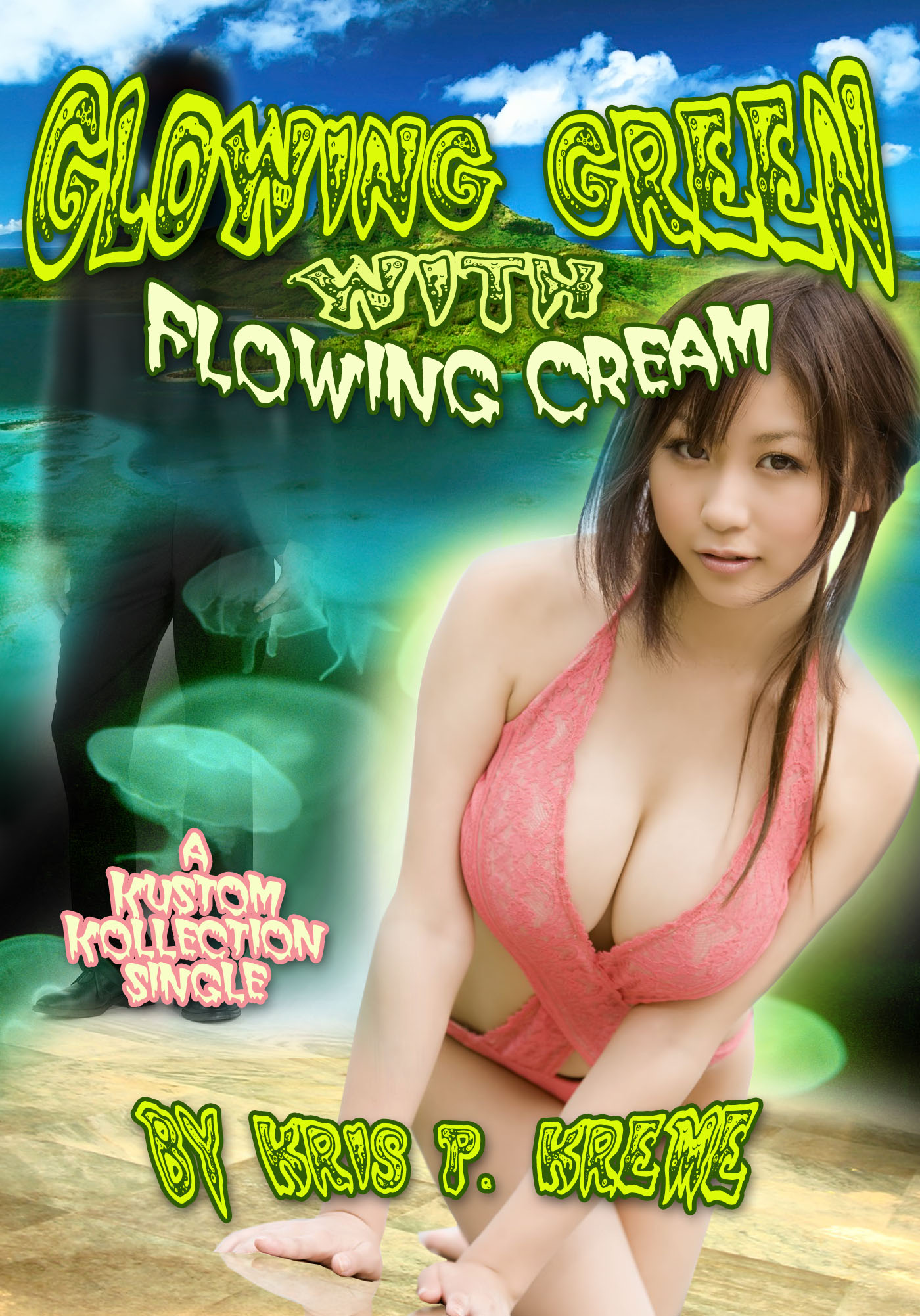 Glowing Green with Flowing Cream by Kris P. Kreme