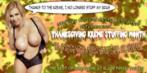 Thanksgiving Kreme Stuffing Month