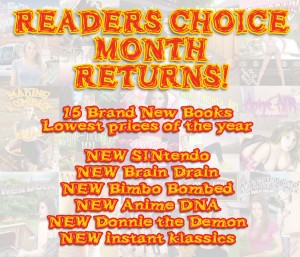 Reader's Choice 2015 is coming!