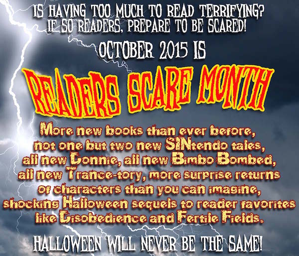 Reader's Scare Month