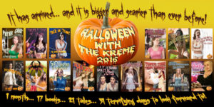 Halloween with tbe Kreme 2016 Cover Banner